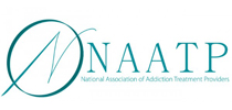 NAATP logo - National Association of Addiction Treatment Providers - ROC Recovery Services