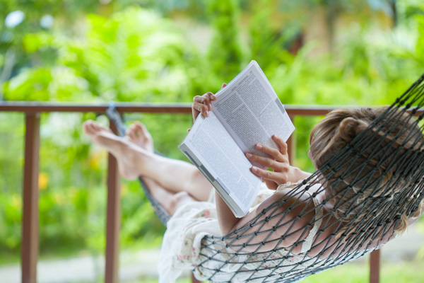 Taking Care Of Yourself - woman reading book - roc recovery services